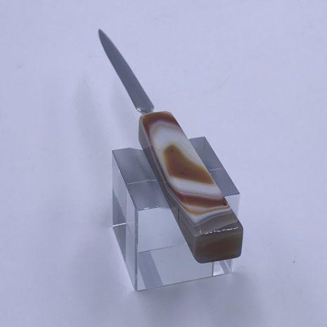 Agate Orange letter opener