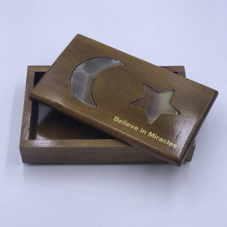 Natural Agate Box Jewlery Crystals or keepsakes