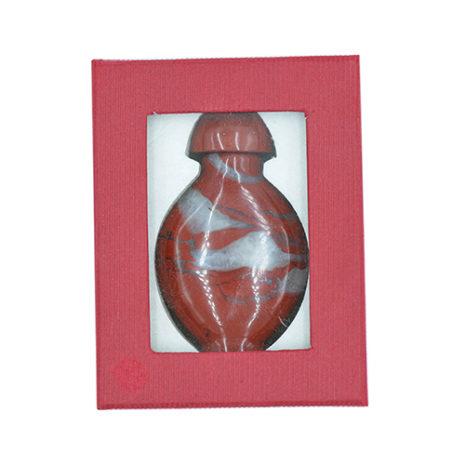 Red Jasper Perfume Bottle
