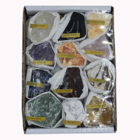 Mixed Rough Crystals
