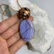 Blue Lace Agate Tensor Pendant