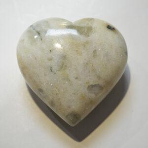 Rainbow Moonstone Heart