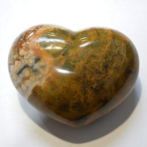 Ocean Jasper Heart