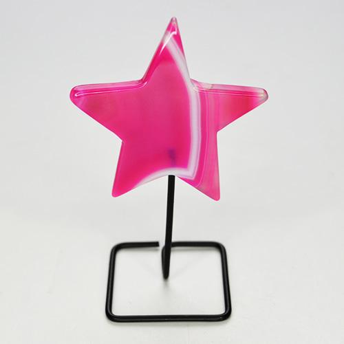 Agate Star Pink