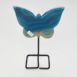 Agate Butterfly Blue