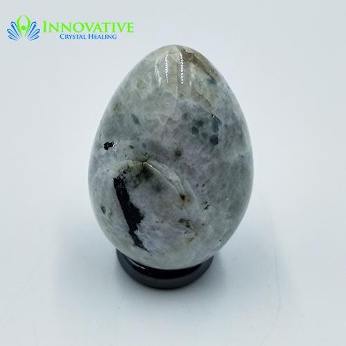 Rainbow Moonstone Egg