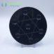 Obsidian Star of David Grid Plate