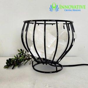 Lamp Basket Selenite