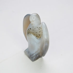Natural Agate Geode Angel