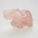 Rose Quartz Elephant