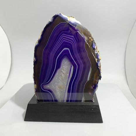purple agate 2-3