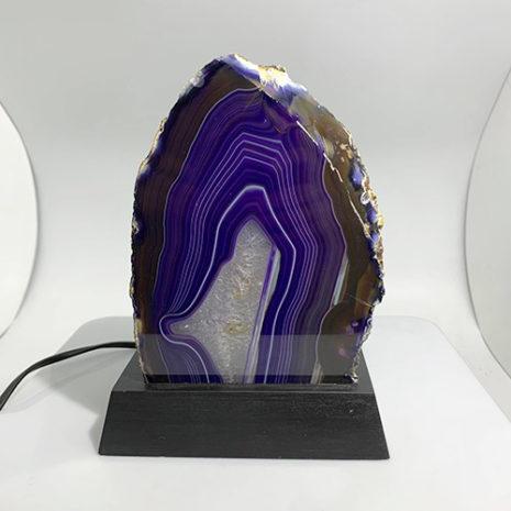 purple agate 2-4