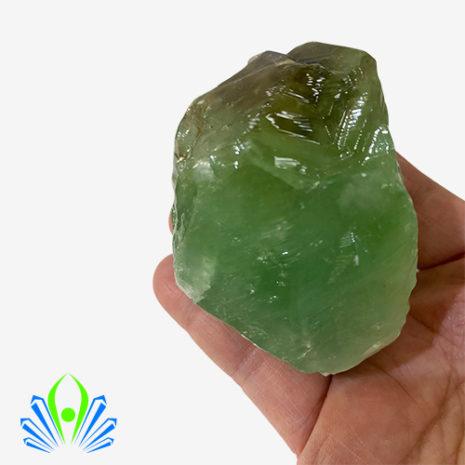 Green Calcite Rough