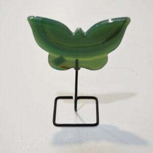 Green Agate Butterfly