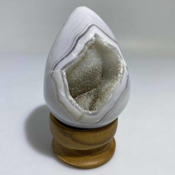 Agate Druzy Egg