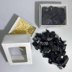 Black Obsidian Box
