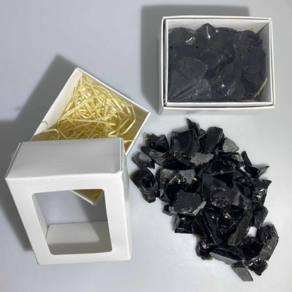 Black Obsidian Box