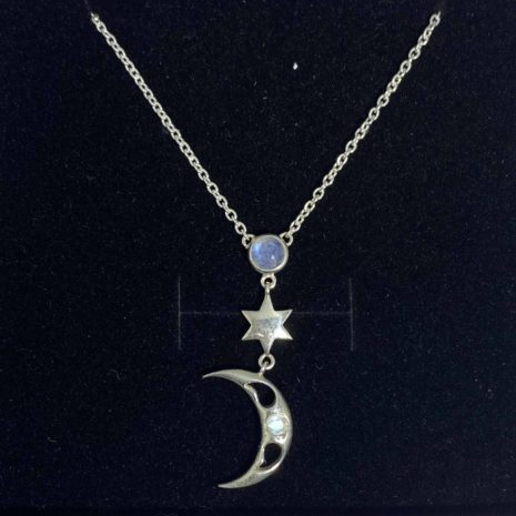 Necklace Moon and Star 4