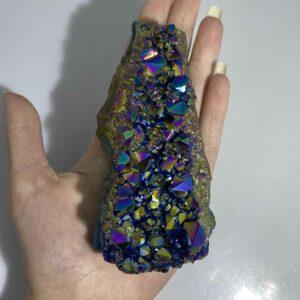 Titanium Amethyst Aura