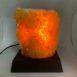 citrine cluster lamp 1 light on
