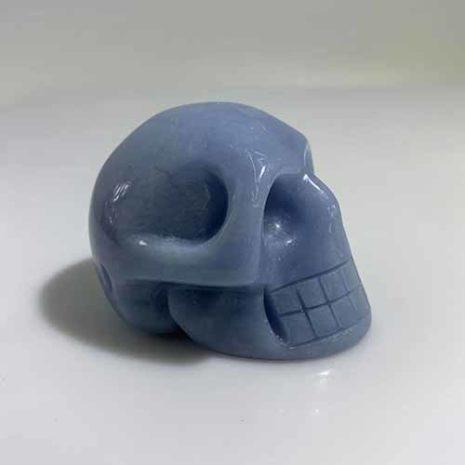 Angelite skull 1