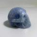 Blue Calcite Carved