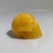 orange calcite skull 1