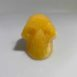orange calcite skull 111