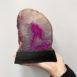 Pink Agate Lamp