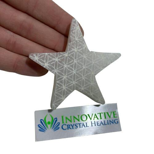 Selenite Star Flower of Life