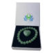 Aventurine small heart and bracelet