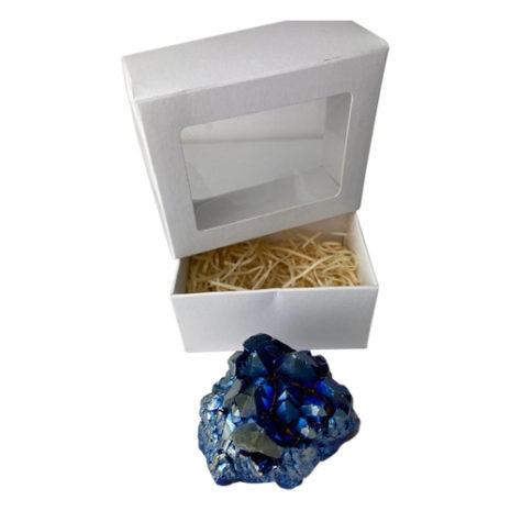 Titanium Quartz Boxed Cluster