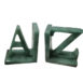 Green Aventurine Bookends set