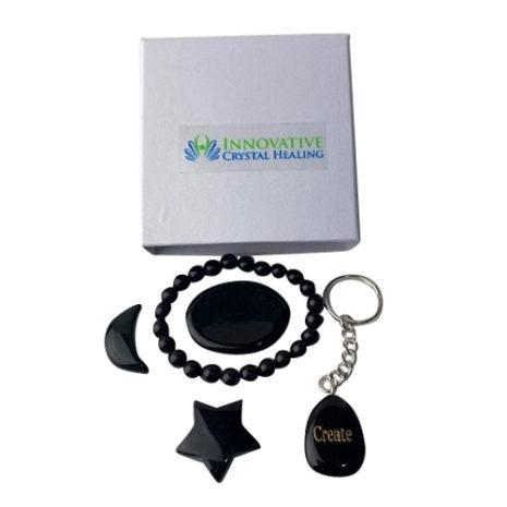 Gift Set Black Obsidian