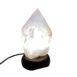 Rose Quartz Top Polished Lamp