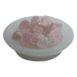 Large Selenite Bowl with Rose Quartz
