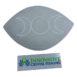 Selenite Oval Plate