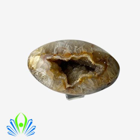 Natural Agate Geode Egg
