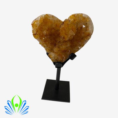 citrine heart 1