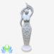 Ceramic three Moons Goddess